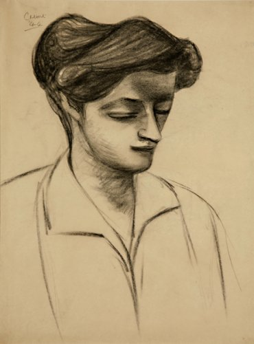 Portrait of a Woman - Details