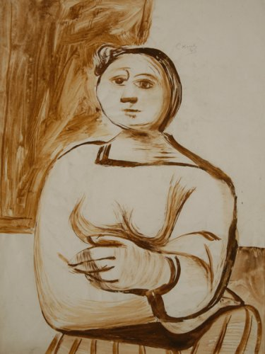 Seated Woman - Details