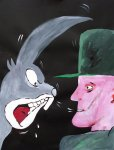 Joseph Beuys gets it from Bugs Bunny - Details