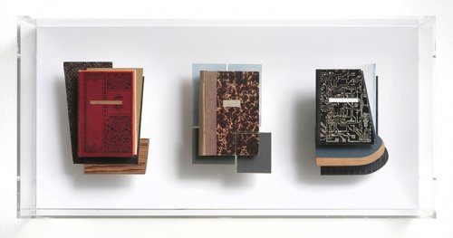 Three Cubist Books - Details