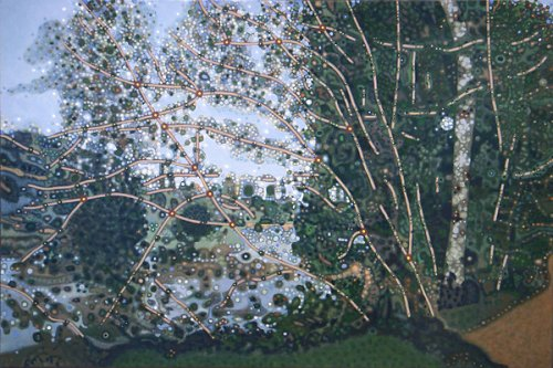 L'etang a l'arbre penche - Details