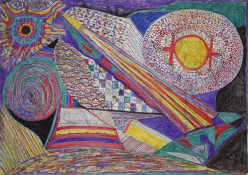 Untitled (Acid Drawing) - Details