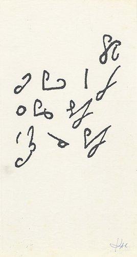 Taquigrama (Stenogram) - Details