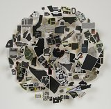 Black Map Circle - Details