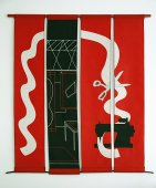 Red (Banner) Studio (after Matisse) - Details