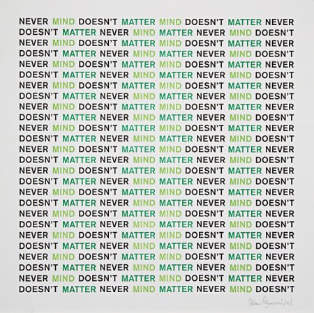Never Mind – Doesn't Matter - Details