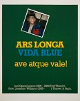 ARS LONGA VIDA BLUE - Details