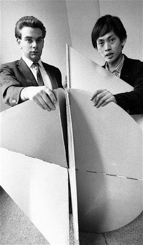 Paul Keeler and David Medalla - Details