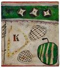 Still Life (with letter K) - Details