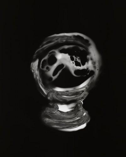 Crystal Ball Photogram No. 2 - Details