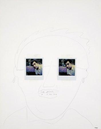 SX-70 Self-Portrait - Details