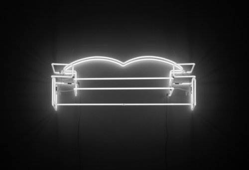 Tina Keane - Neon Couch :: England & Co from englandgallery.com