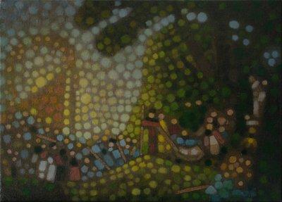 Study after Watteau's Embarquement pour Cythère - Details