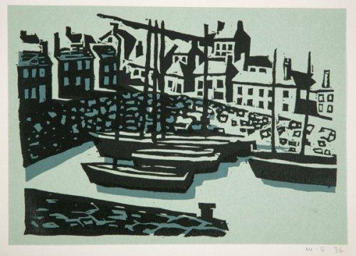 Untitled (Harbour at Mousehole) - Details