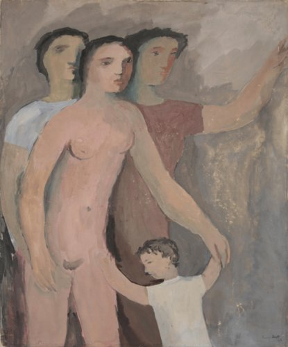 Untitled (Three Women and a Child) - Details