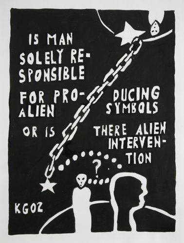 Is Man Solely Responsible for Producing Alien Symbols - Details
