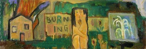 Untitled (Burning) - Details
