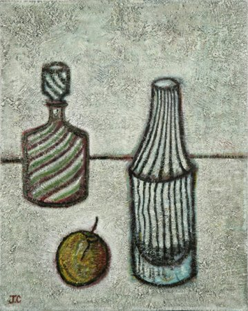 Two Bottles and Apple - Details