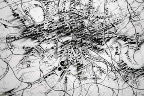 Untitled (London 1848, with railroads) - Details