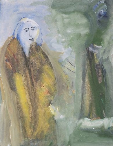 Woman in Forest - Details