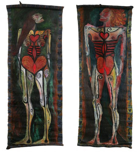 Woman and Man (Jennifer Binnie and Grayson Perry) - Details