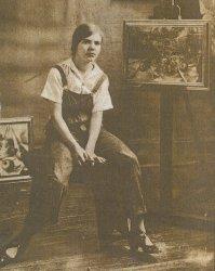 Pamela Bianco c1925 - image