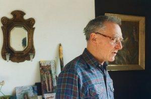 Albert Herbert in his studio - image