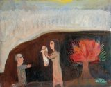 Nativity with Burning Bush - Details