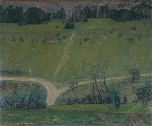 Landscape, Box Hill - Details