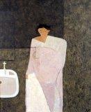 Woman in Bathroom i - Details