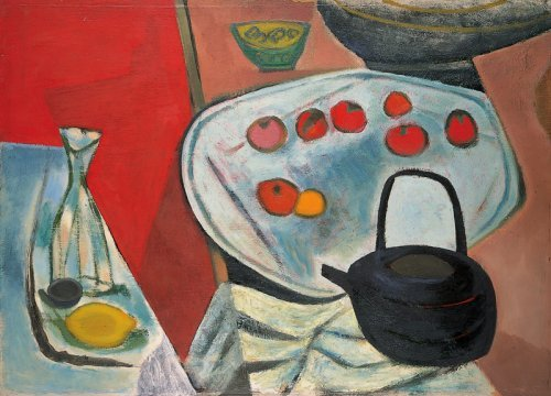 Still Life with Kettle - Details