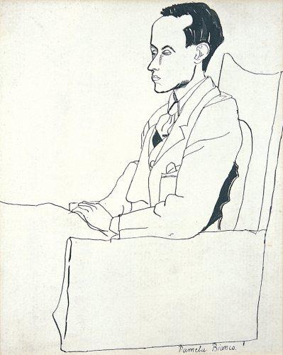 Portrait of Ben Nicholson - Details