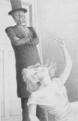 Illustration from 'Come Not Lucifer'<br> - Details