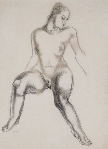 Seated Nude - Details