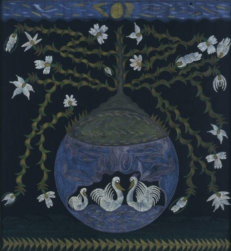 Untitled (Swans) - Details