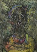 Portrait of Josephine Baker (with Stars in Her Eyes)  - Details