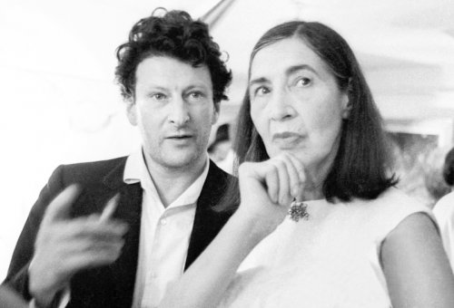 Lucian Freud and Lady Epstein - Details