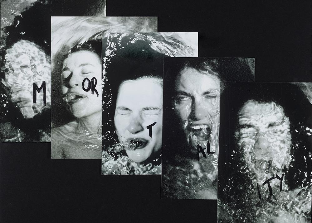 ANNE BEAN: Mortality (Shouting Mortality as I Drown), 1978.