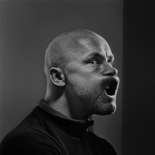 Damien Hirst photographed by Brian Griffin