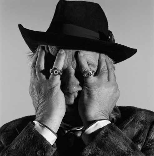 BRIAN GRIFFIN: George Melly (1990).