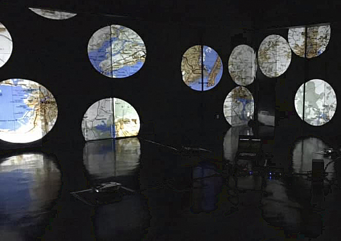 Satomi Matoba: Travelling Nomansland, installation view.