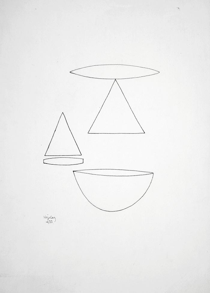 Paule Vézelay: Drawing (1933).