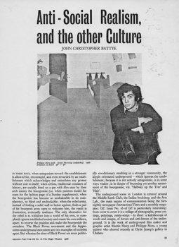 Art & Artists, 1968.