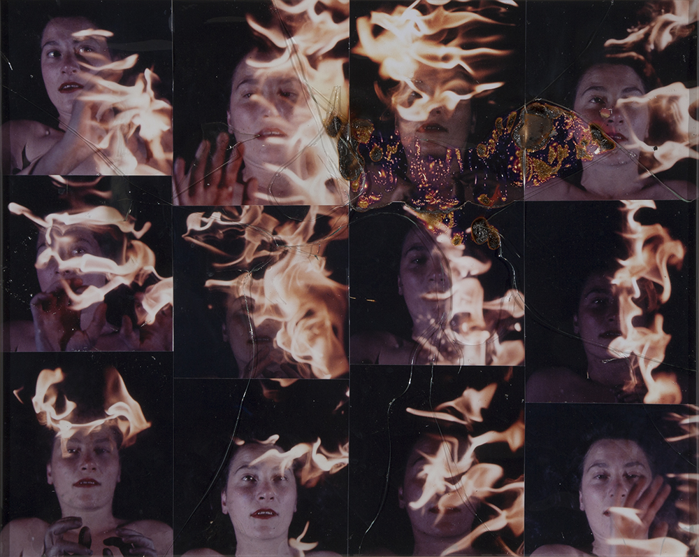 Anne Bean: Heat, performed for camera in 1977.