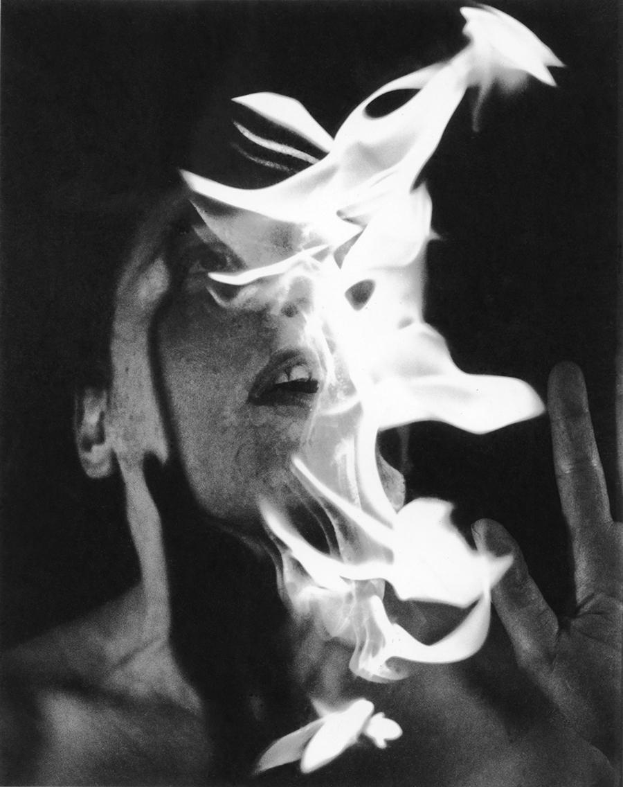 Anne Bean: Elemental (performance image), c1974. England & Co Gallery