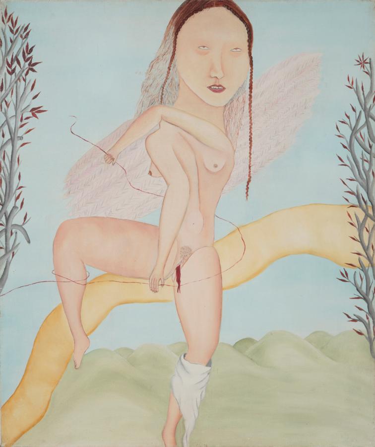 Angel de la Menstruación by Cecilia Vicuña in A Kingdom of Hours
