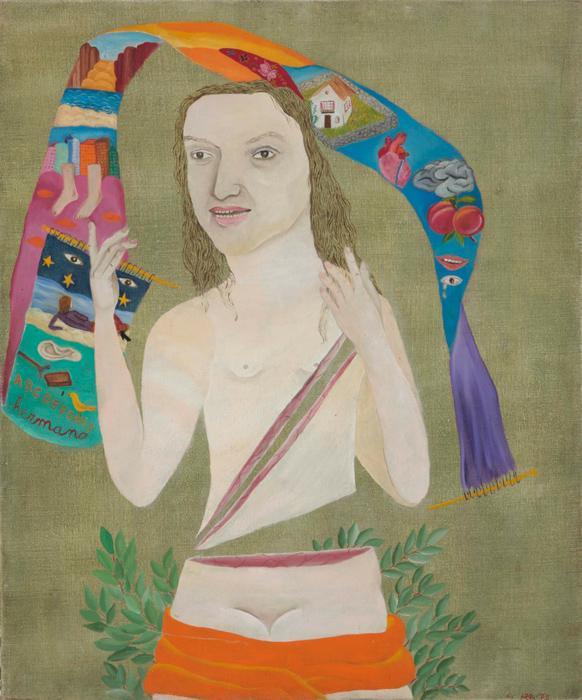 Violeta Parra (1973) by Cecilia Vicuña, acquired by Tate, London