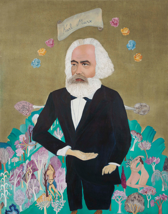 Karl Marx (1972) by Cecilia Vicuña acquired by the Guggenheim Museum