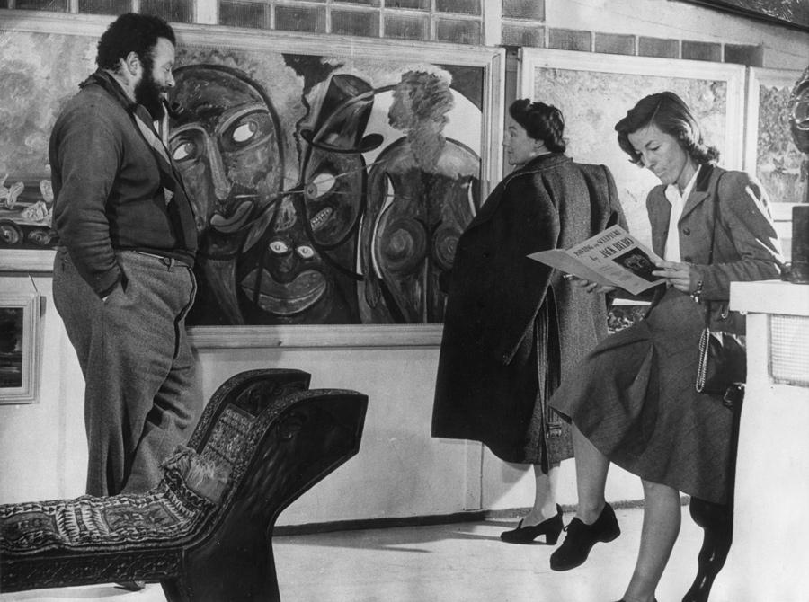 Jack Bilbo, c1948. The Modern Art Gallery talk.