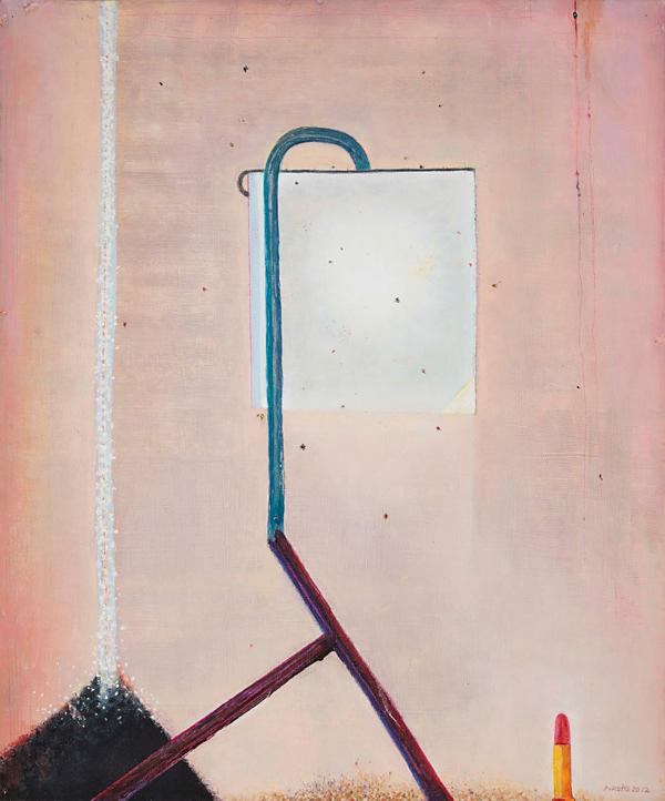 Michael Druks at England & Co gallery. London Art Fair 2015.